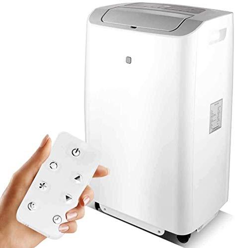 Air Conditioner, draagbare Eenheid van de Airconditioner met afstandsbediening Dehumidifier Function Met raam slang, 4 Caster Wheel, de slaapstand en verwarming Huangwei7210