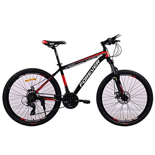 Bicicleta de montaña Mountainbike Bicicleta 26' 24 plazos de envío Montura MTB ligero de aleación de aluminio Suspensión delantera de doble disco de freno Bicicleta De Montaña Mountainbike MTB Bicicle