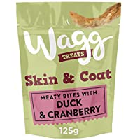 Bites with delicious duck & cranberry Meaty bites enriched with vitamins & minerals Omega oils to help support healthy skin & coat Oven baked to lock in nutrition & flavour Suitable for dogs from 8 weeks old