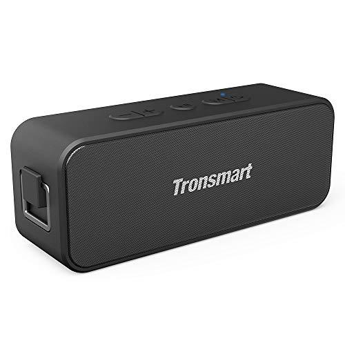 Caixa de Som Portátil Tronsmart T2 Plus 20w Bluetooth 5.0 Ipx7 Tws (Preto)