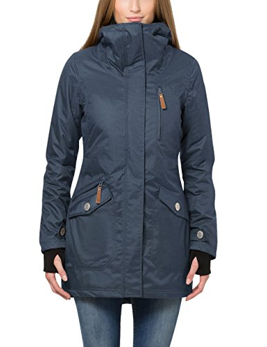 Berydale Women's Wind and Waterproof Parka Jacket, Blue ( Navy) ( Navy),14 (Manufacturer size: L)