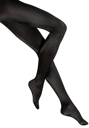 Wolford Satin de Luxe Tights - Mujer negro