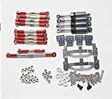 Eddwiin para WPL C14 C24 Modelo RC Accesorios de Coche Kit de camión Piezas de actualización de Metal Kit de Amortiguador de Palanca de Cabeza de Bola de actualización de Metal ( Color : Set 2 )