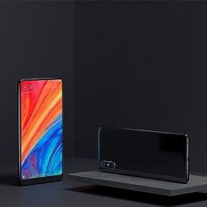 """Xiaomi Mi Mix 2S EU - Smartphone de 5.99"""" (memoria de 6GB + 128 GB, cámara de 12 MP), color negro [versión española]"""