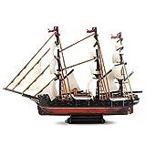 Kw-tool Maqueta de Barco, Herramientas de construcción Maqueta de Barco Maqueta de Barco Maqueta ensamblada Maqueta de navegación clásica Acorazado chileno Esmeralda