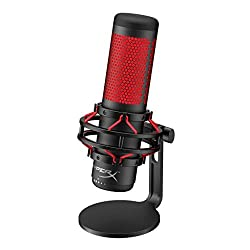 HyperX QuadCast USB Condenser Microphone - Best Podcast Microphones