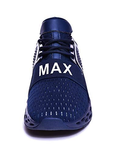 GSLMOLN heren gymschoenen straatloopschoenen sportschoenen outdoor lichtgewicht loopschoenen sneaker vrije tijd ademende fitness trainer 39-46 EU