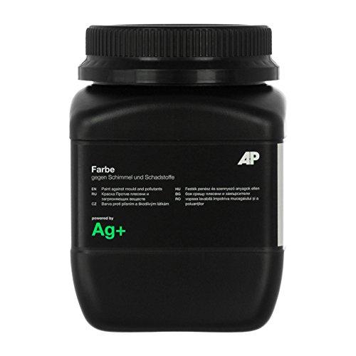 Ag+ Farbe gegen Schimmel und Schadstoffe, chlorfreie Anti-Schimmel-Farbe (1 L)