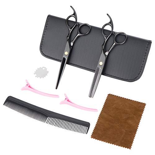 Peinat Haarschere Set, Scheren Sets, Effilierschere Scharfe, Friseurscheren Für Männer Frauen Kinder
