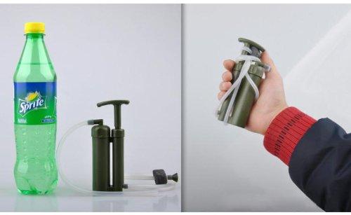 PureEasy Filtro de Agua Soldier PF111: Amazon.es: Jardín