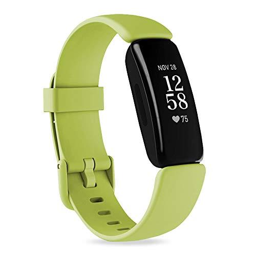 Onedream Cinturino Compatibile per Fitbit Inspire 2 Cinturini, Sportivo Silicone Cinghia di Polso, Ricambio Bracciale Classico Braccialetto per Donna Uomo Piccolo Grande (Nessun Orologio)