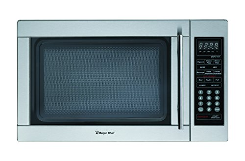 Magic Chef MCD1310ST 1.3 cu.ft. Microwave, Stainless Steel
