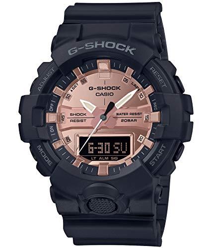 [カシオ] 腕時計 ジーショック BLACK&ROSE GOLD GA-800MMC-1AJF メンズ ブラック