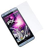 atFolix Glasfolie kompatibel mit HTC Desire 530/630 Panzerfolie, 9H Hybrid-Glass FX Schutzpanzer Folie