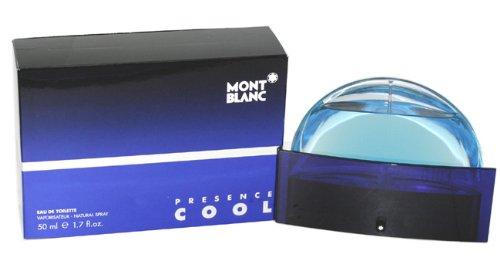Mont Blanc Presence Cool Spray para Hombre, 1.7 Oz/50 ml
