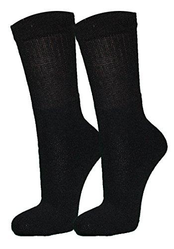 r-dessous 10/20 Paar Damen Herren Socken Tennissocken Sportsocken Arbeitssocken schwarz grau weiss Freizeit Groesse: 39-42