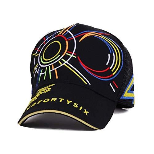 JYXMY 2020 Nueva Rossi VR46 Gorra de béisbol de Moto GP 46...