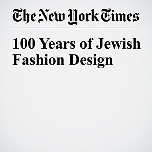 100 Years of Jewish Fashion Design audiobook cover art
