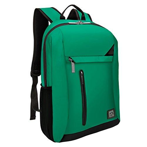 VanGoddy Zaino antifurto per laptop adatto per HP Pavilion, Envy, Stream, Chromebook fino a 15,6 pollici, Verde giada (Verde) - EHNBKLEA082LU.03