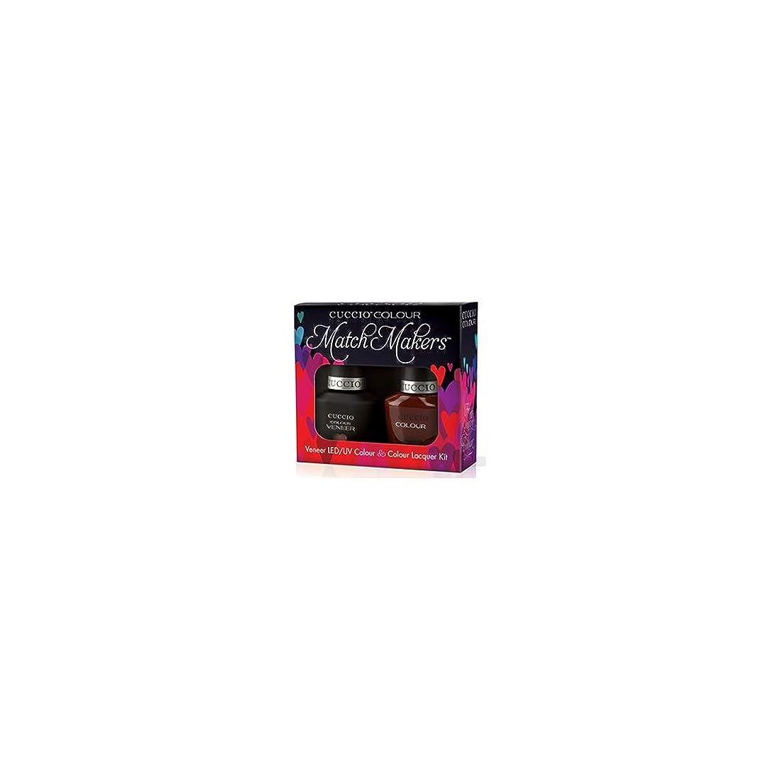 アデレード謙虚な自発的Cuccio MatchMakers Veneer & Lacquer - Brew Ha Ha - 0.43oz / 13ml Each