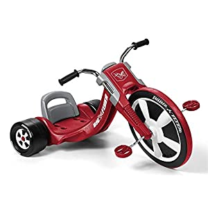 Radio Flyer Deluxe Big Flyer, Outdoor Toy for Kids Ages 3-7 -