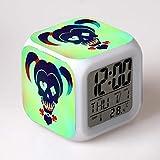 BMSYTY Juguete Despertador digital reloj de dibujos animados despertador electrónico reloj de luz reloj Wekker 17