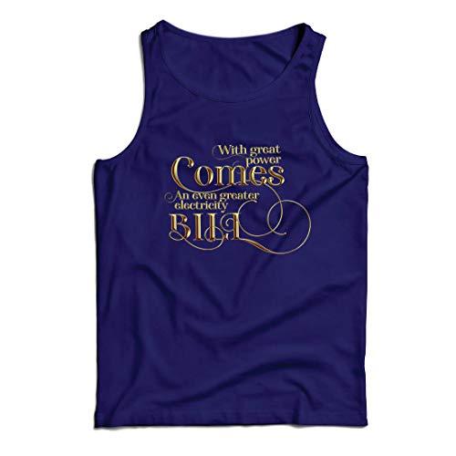 lepni.me Camisetas de Tirantes para Hombre con la Gran Potencia llega la...