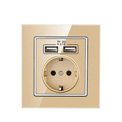 wkd-thvb - Toma de corriente eléctrica a pared estándar de la UE,...