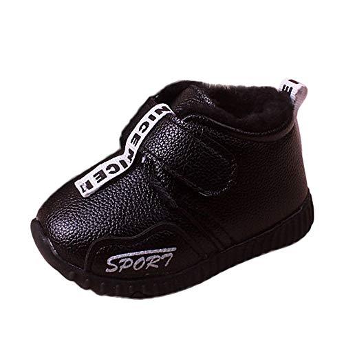❤️ Botas de Nieve para niñas algodón, Bebé Infantil Niño Niñas Niños Invierno Cálido Calzado Deportivo Botas de Nieve Zapatillas de Deporte Absolute