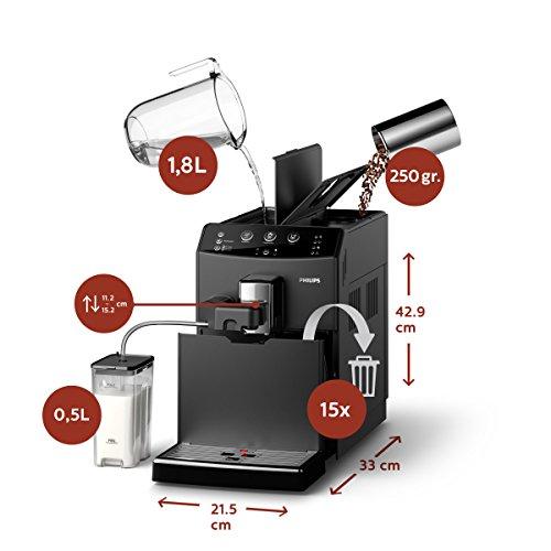 Easy Cappuccino der Philips 3000