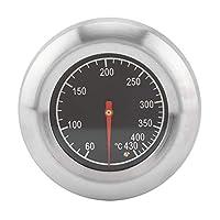 バーベキュー温度計60℃〜430℃グリル用スモーカーテンプゲージバーベキューアクセサリー