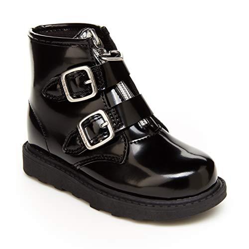 Carter's Girls Brinley Fashion Boot, Black, 11 Little Kid