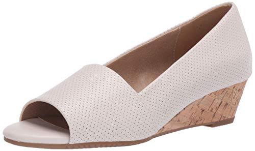 Aerosoles Zapatos de cuña para mujer, Beige (Bone), 42 EU