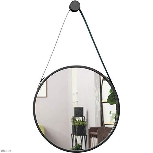 Opknoping Muur Spiegel, Grote Spiegel Muur Opknoping Spiegel Eenvoudige Moderne Badkamerspiegel Wc Make-up Grote Ronde Spiegel 60CM