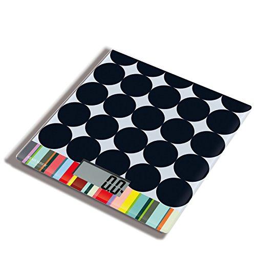 Scoop Küchenwaage, schwarz gepunktet LxBxH 17x18x1,5cm bis 5000g