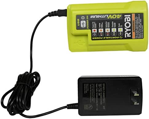 CORD ONLY Ryobi OP401 40v Battery Charger Power Cable AC Wire POWERCORD-RRR