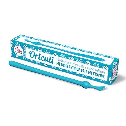 Oriculi en Bioplastique Zéro Déchet Fabriqué en France - Lamazuna (Bleu)
