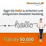CleverReach Newsletter Software, Email Marketing Automation, Flatrate Tarif 50.000, Web Browser, Monatliches Abonnement -