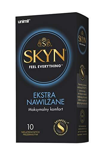 SKYN® Extra Lubricated, Condones sin látex extra lubricados - Pack