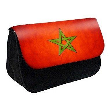 Youdesign - Trousse à Crayons/Maquillage drapeau maroc ref 330 - Ref: 330
