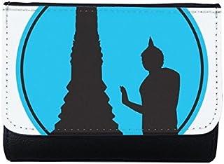 DIYthinker Women's Kingdom of Thailand Thai Traditional Customs Culture Made in Thailand Buddha Shield Art Illustration Mu...