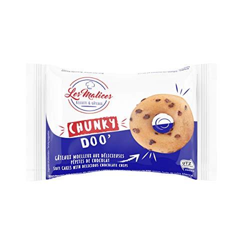 Les Malices - Chunky Doo Donuts mit Schokoladenstückchen, Packung mit 50 St., 1500g
