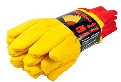 Heavyweight Yellow Chore Winter Work Glove