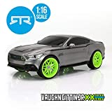 RC CHARGERS Vaughn Gittin Jr. Ford Mustang RTR RC Car | 1:16 Scale, Ready to Rock