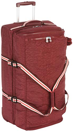 Kipling TEAGAN L Hand Luggage, 77 cm, 91 liters, Brown (Burnt Carmine M)