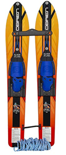 O'Brien Kids All-Star Trainer Combo Waterskis, 46