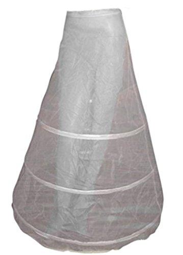 Seruna Reifrock R4 Petticoat für Braut-Kleider Hochzeit Fest-Kleid weiß-er Tüll Hochzeits-Zubehör Accessoires