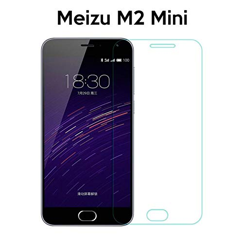 Generica - Protector de pantalla de Cristal Templado para Meizu M2 Mini