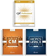 AMA CPT Book, ICD-10 Code Book, HCPCS Book - 2019 Physician Bundle by AAPC