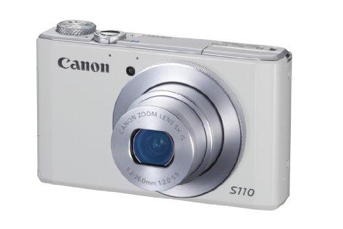 Canon Powershot S110 Digitale Kompaktkamera (12,1 Megapixel, 5-Fach Opt. Zoom, 7,6 cm (3 Zoll) Touchscreen, HDMI, DIGIC 5) Silber